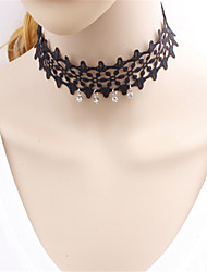 Gothic Lolita Dress Necklace Vintage Inspired Lolita Accessories Solid Necklace Polyester
