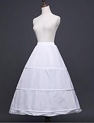 abordables -Mariage Occasion spéciale Déshabillés Polyester Mollet Robe trapèze Robe de soirée longue avec