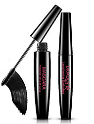 cheap -1Pcs Waterproof Thick Natural Black Mascara Volume Curling Eyelash Cream Extension Makeup Cosmetic Mascara Liquid