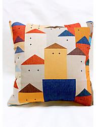 cheap -1 pcs Linen Sofa Cushion Travel Pillow Body Pillow Pillow Case Novelty Pillow, Graphic Prints Casual Outdoor Accent/Decorative Country