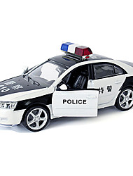 Pull Back Vehicles Toy Cars Police car Toys Duck Car Metal Alloy Metal Pieces Unisex Boys Gift