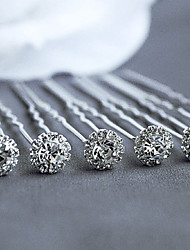 cheap -Cubic Zirconia Hair Pin Hair Stick Hair Tool Headpiece Elegant Style