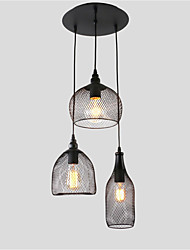 cheap -Vintage Simplicity Loft Pendant Lights Metal Dining Room Kitchen Bar Cafe Hallway Balcony Light Fixture