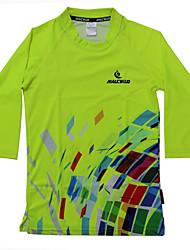 Damen Laufshirt Kurzarm Rasche Trocknung Anatomisches Design UV-resistant Atmungsaktiv T-shirt Hemd Sweatshirt Trainingsanzug Oberteile