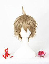 Short Light Brown The Animation Yayoi Haru Cosplay Wigs Synthetic 12inch Anime Wig CS-297E