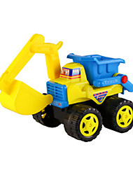 cheap -Toy Cars Pretend Play Beach & Sand Toy Beach Toys Construction Vehicle Dozer Excavator Toys Novelty Large Size Car Excavating Machinery