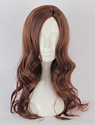 cheap -Cosplay Wigs Cosplay Cosplay Brown Long Curly Anime Cosplay Wigs 70 CM Heat Resistant Fiber