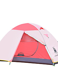 1 Pessoa Tenda Duplo Barraca de acampamento Um Quarto Tenda Dobrada Portátil para >3000mm CM