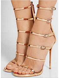 Women's Sandals Spring Summer Fall Comfort Novelty PU Outdoor Office & Career Party & Evening Dress Stiletto Heel Walking
