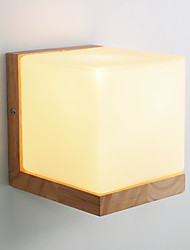 cheap -Modern/Contemporary Country Wall Lamps & Sconces For Wood/Bamboo Wall Light 220V 110V 60W