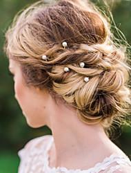 cheap -Imitation Pearl Alloy Hair Pin Hair Stick Hair Tool 1 Wedding Special Occasion Casual Headpiece