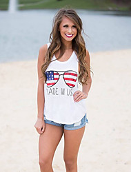 Aliexpress eaby europeu e americano comércio explosão modelos blusas 2016 novo cartoon impresso colete t-shirt