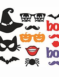 abordables -Halloween Papel duro Decoraciones de la boda Tema Clásico