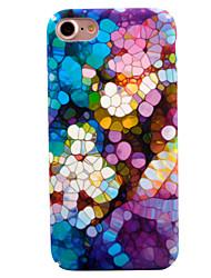 economico -Per iPhone 8 iPhone 8 Plus Custodie cover Fantasia/disegno Custodia posteriore Custodia Geometrica Resistente PC per Apple iPhone 8 Plus