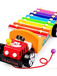 Building Blocks Educational Toy Toy Cars Toy Instruments Train Toys Train Piano Musical Instruments Truck Kid's Children's 200 Pieces