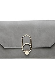 cheap -Women's Bags PU Wristlet Metallic Black / Blushing Pink / Gray