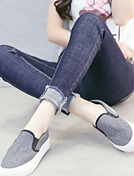 Sign 2017 spring and summer high elastic pantyhose female students pencil pants jeans feet