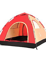 LINGNIU® 3-4 persone Tenda Tenda da campeggio Una camera Tenda automatica Ben ventilato per Campeggio CM