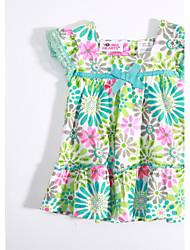 abordables -Tee-shirts bébé Fleur Décontracté / Quotidien-Coton-Eté-