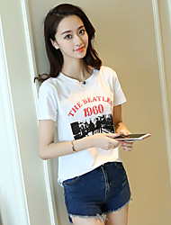 Real shot summer 2017 Korean round neck cotton T-shirt personality simple solid color shirt student woman short sleeve T-shirt