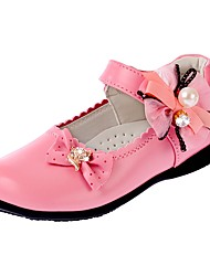 Girl's Shoes Libo New Style Hot Sale Casual / Party / Wedding Comfort Fashion Lovely Loafers Black / Red / Pink