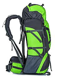 abordables -80 L Mochilas / Mochila - Impermeable, Resistente a la lluvia, Aislamiento de la cabeza Al aire libre Camping y senderismo, Caza, Escalada Nailon, 420D Nylon Rojo, Verde, Azul