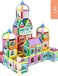 preiswerte -Magnetische Bauklötze Magnetsticks Bausteine Fahrzeug-Spiele nach Themen Spielzeuge Magnetisch Unisex Spielzeuge Geschenk