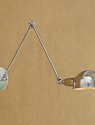 baratos -Regional / Retro / Moderno / Contemporâneo Swing Arm Lights Metal Luz de parede 110-120V / 220-240V 40W
