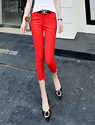 Sign 2016 summer new Korean version of Slim pants feet pencil pants female skinny pant suit