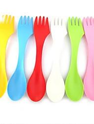 economico -Plastica Forchetta da tavola Cucchiaio da zucchero Cucchiai Forchette Coltelli
