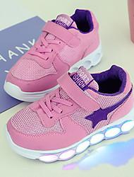 sneakers primavera estate autunno luce della ragazza in su scarpe comfort di prima camminatori tulle all'aperto atletico tallone casuale