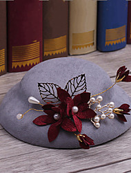 cheap -Fabric / Alloy Hats with 1 Wedding / Special Occasion / Casual Headpiece