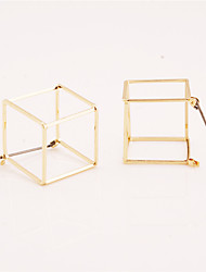 Women's Stud Earrings Jewelry Geometric Personalized Euramerican Costume Jewelry Fashion Copper Geometric Jewelry For Daily Casual