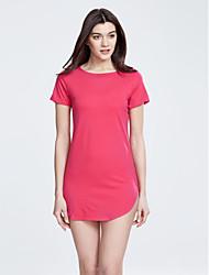 Žene Veći konfekcijski brojevi Korice Haljina Jednobojni Mini