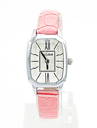 The new Korean fashion trend female student watch small square simple belt watch 30015407