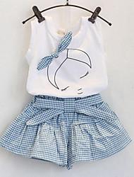 Girls' stripe clothes