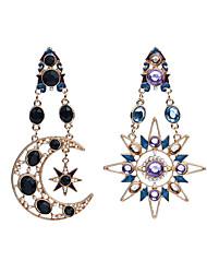 economico -Per uomo Per donna ORECCHINI Orecchini spaiati imitazione diamante Originale Pendente Di tendenza Personalizzato Euramerican Mancata