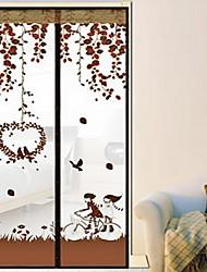 Занавес для москитов Полиэстер сОсобенность является Шифрование и Магнитные , Для Дверь и окно