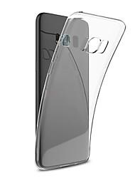 Carcasă Pro Samsung Galaxy S8 Plus S8 Ultra tenké Průhledné Zadní kryt Pevná barva Měkké TPU pro S8 S8 Plus