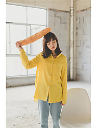Real shot! Spot! 2017BF two kinds of wind loose shirt worn irregular long-sleeved blouse students
