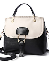 cheap -Women Bags PU Shoulder Bag Rivet for Event/Party Formal Outdoor Office & Career All Seasons Blue Green White Blushing Pink Brown
