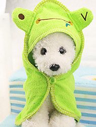 Pet Bath Towel With Cap