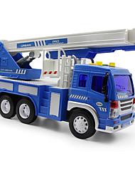 Недорогие -Игрушки Пожарная машина Игрушки Машинки с инерционным механизмом Пожарные машины пластик Куски Детские Подарок