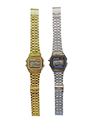 cheap -Women's Fashion Watch Quartz Alloy Band Silver Gold Alarm clock electronic watch