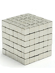 cheap -Magnet Toys Magic Cube Neodymium Magnet Stress Relievers 216pcs 5mm Magnetic Square Toy Adults' Gift