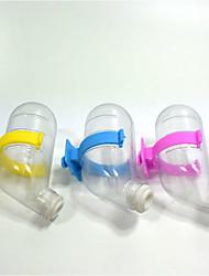 Roditori Conigli Cincilla' Ciotole &Bottiglie Portatile Plastica Arancione Verde Blu Rosa