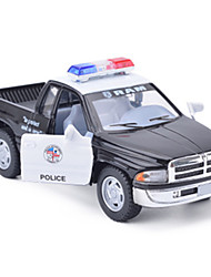 cheap -Toy Cars Model Car Truck Police car Toys Simulation Car Metal Alloy Metal Alloy Metal Pieces Children's Unisex Boys' Gift