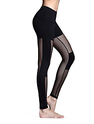 Women's Running Pants Quick Dry Breathable Tights Leggings Bottoms for Yoga Pilates Exercise & Fitness Leisure Sports Running Polyester