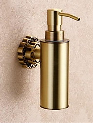 Soap Dispenser / Polished Brass /Contemporary