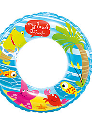 cheap -Donut Pool Float Swim Rings Toys Circular Duck Thick PVC Men's Women's Kids Pieces
